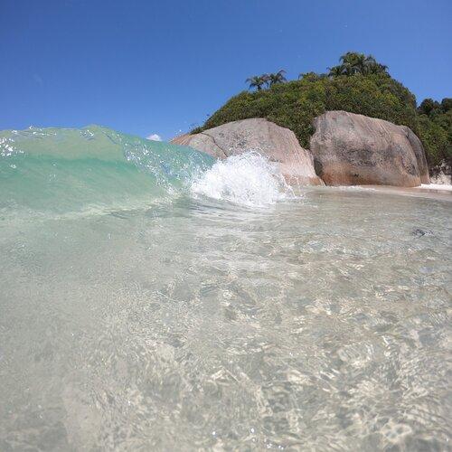 Mar na Ilha do Campeche
