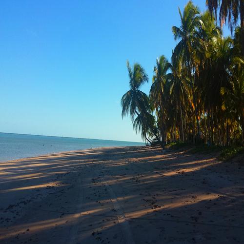 Praia do Patacho em Alagoas