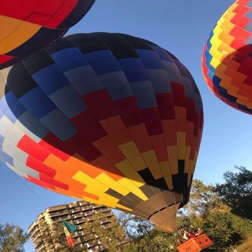 voo de balão em são lourenço mg