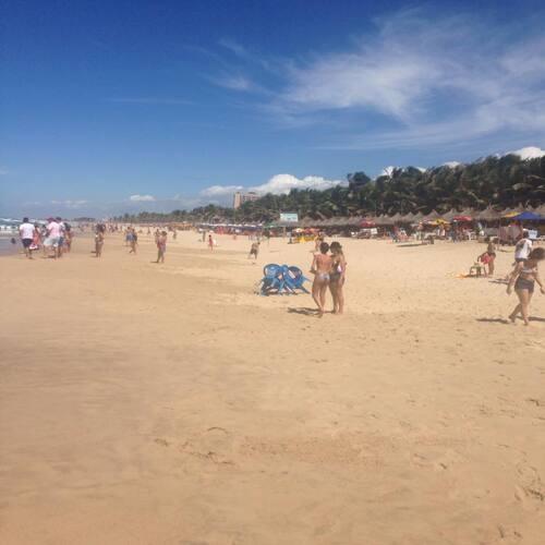 barracas na Praia do Futuro