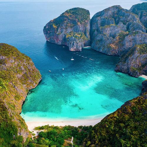 Belezas nas Ilhas Phi Phi
